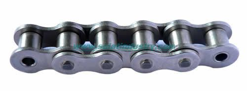 Nickel-Plated Motorcycle Roller Chain