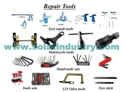 We Supply all kinds of Motorcycle repair tools, Tire repair tools,Hand Tools and Hand tools kits.